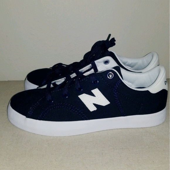 3f99f163 New Balance Pro Court Boys Navy Sneakers 3